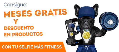 Concurso: Gana meses gratis con tu foto Selfie Fitness